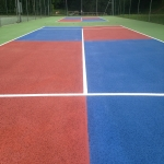 Sports Court Colour Coating in Northamptonshire 5