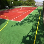 Sports Court Colour Coating in Lancashire 9