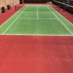 Sports Court Pressure Washing in Falkirk 4