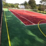 Sports Court Colour Coating in Lancashire 7