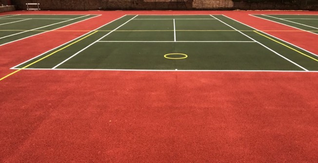 Tennis Court Resurfacing in Powys