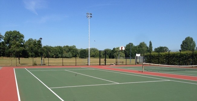 Maintaining Sports Courts in Blaenau Gwent