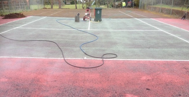 Tennis Court Cleaning in Falkirk