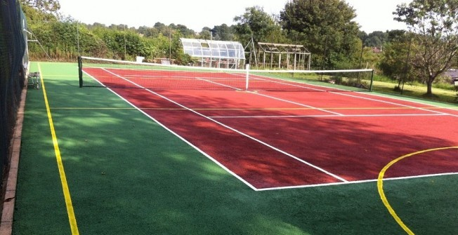 Painting MUGA Courts in Northamptonshire